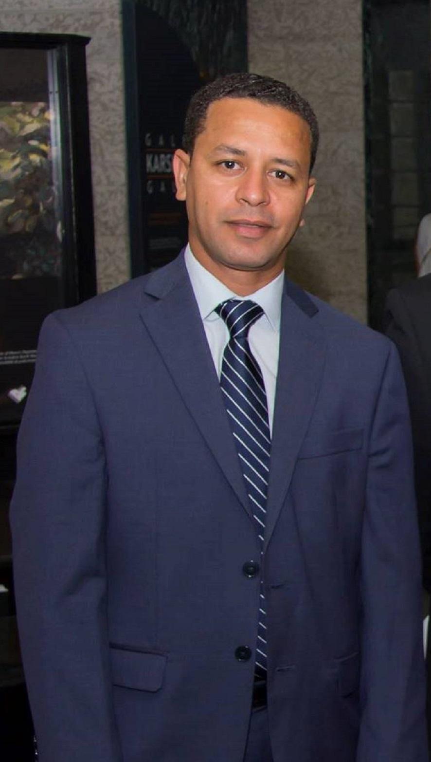 Faouzi Metouilli, le président de , l'Association Marocaine de Toronto