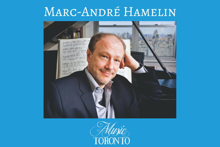 Music TORONTO: Marc-André Hamelin en concert à Toronto en janvier