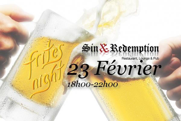Frite Night Fevrier