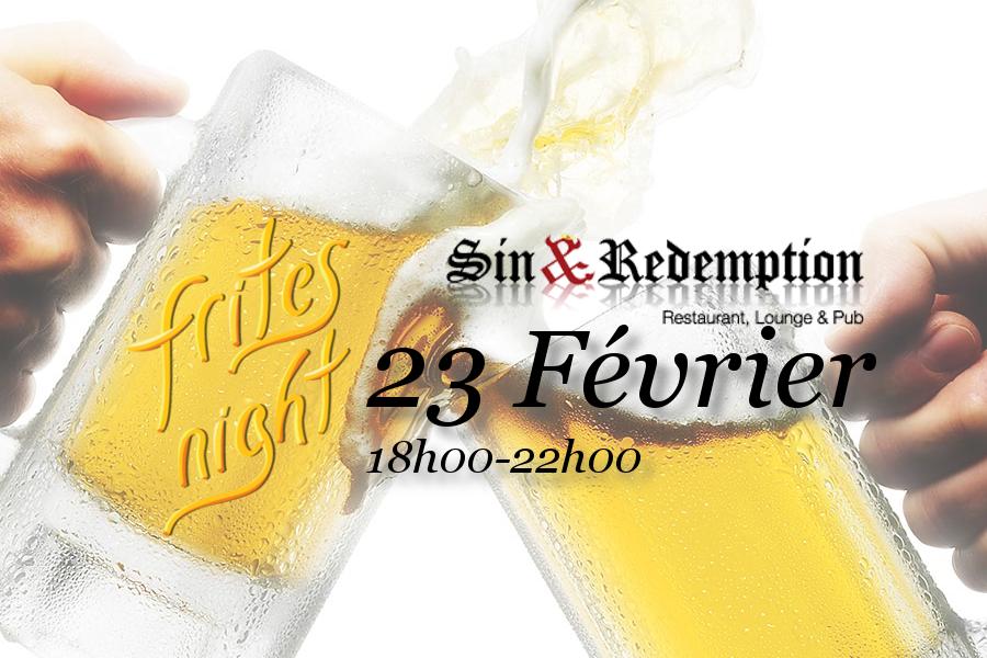 Frites Night, l'événement mensuel de la communauté belge