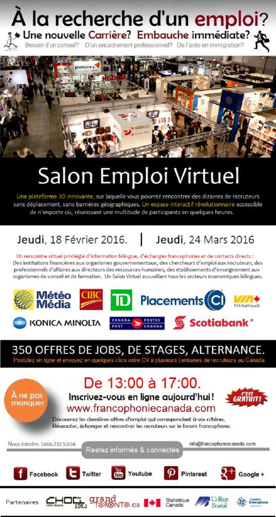 Salon d'emploi virtuel
