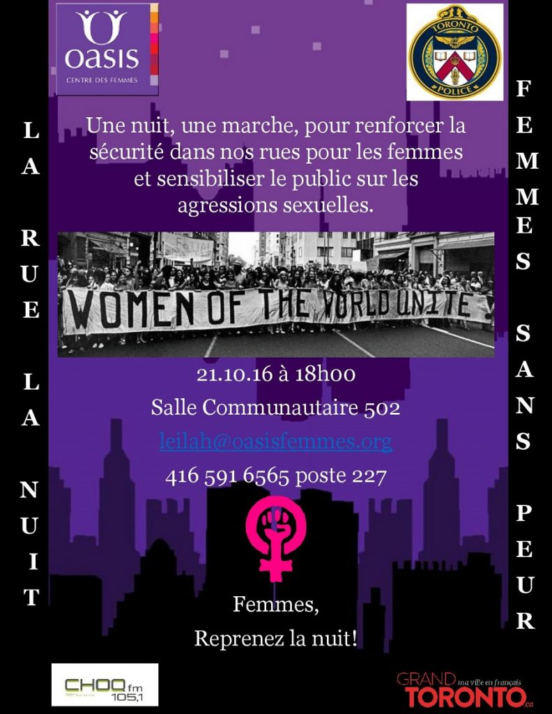 La rue, la nuit femmes sans peur