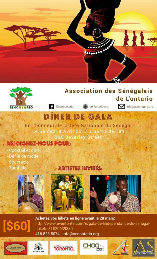Gala en honneur de la fête nationale du Sénégal
