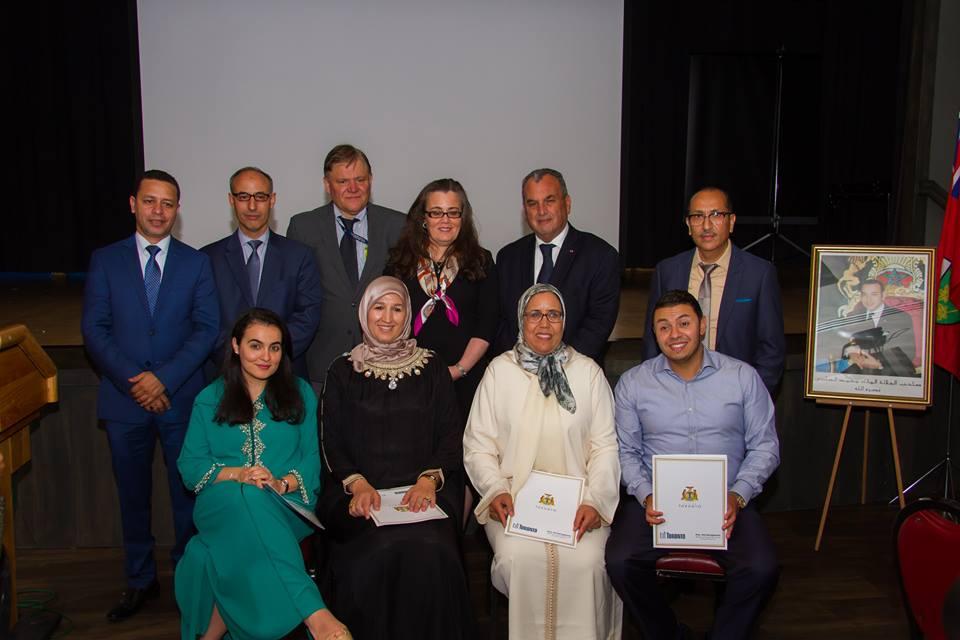 La délégation marocaine
