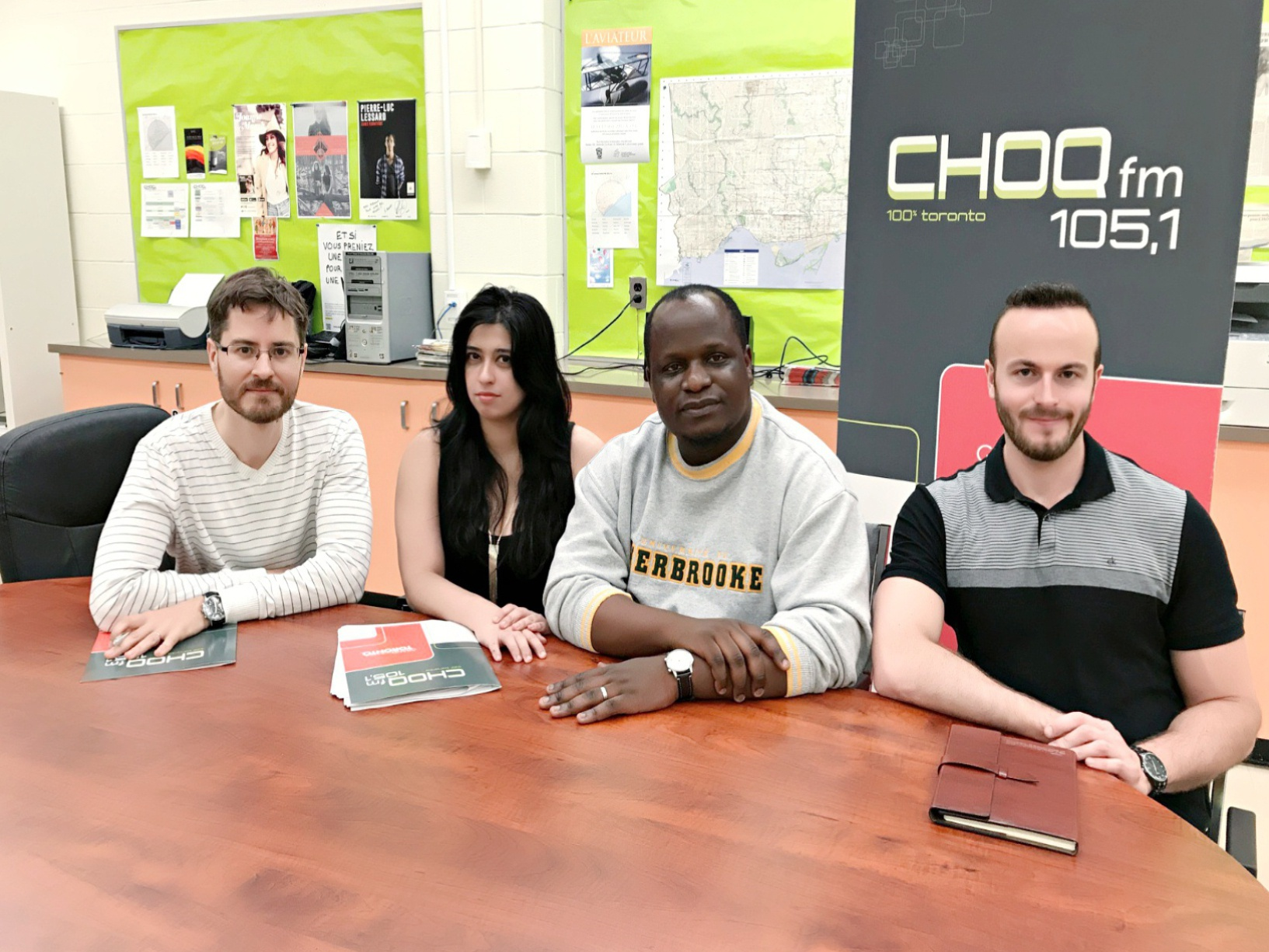 Julien à CHOPQ FM
