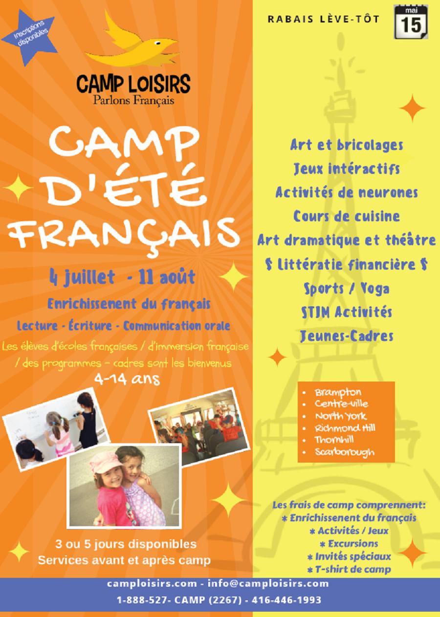 camp loisirs 4-14