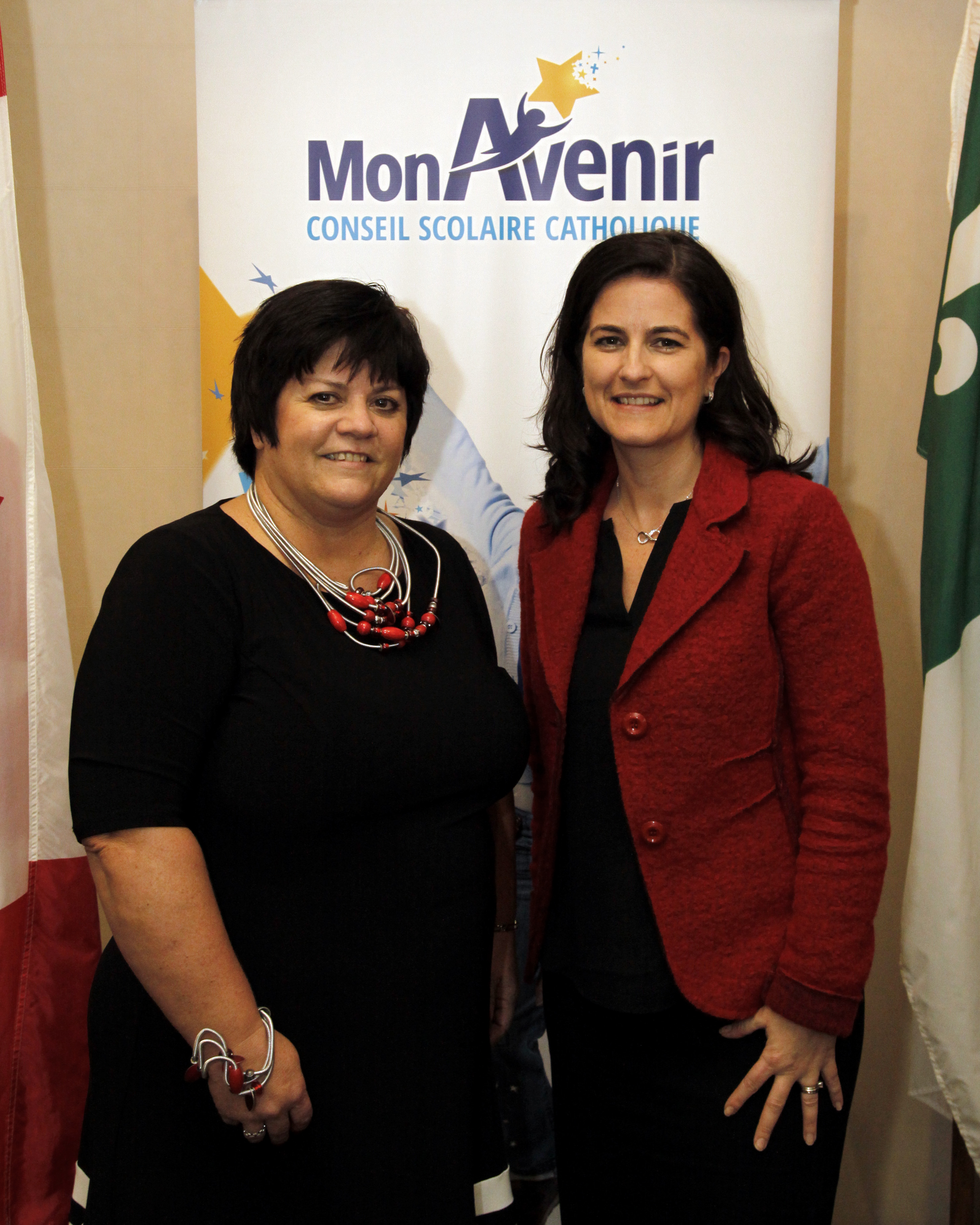 Melinda Chartrand, présidente et Geneviève Grenier, vice-présidente