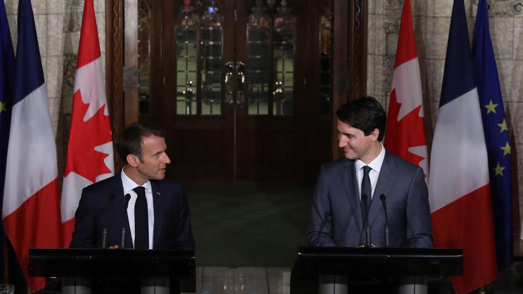 Le Canada et la France entretiennent d'excellentes relations bilatérales fondées sur une histoire, une culture et des valeurs communes.