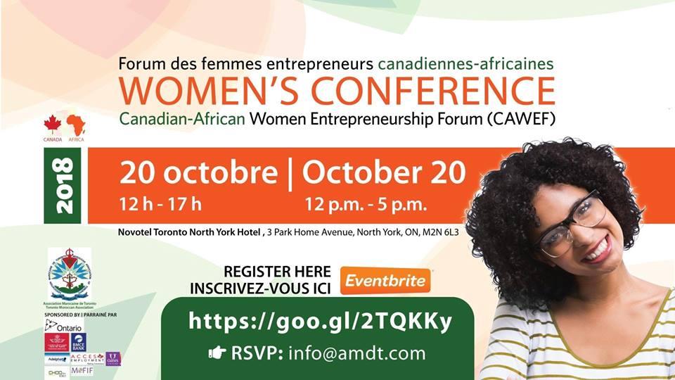 Forum des femmes entrepreneurs canadiennes-africaines