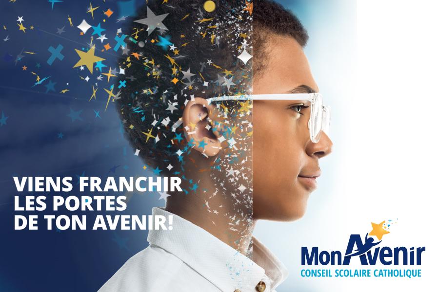 Cet hiver, venez visiter les écoles secondaires du Conseil scolaire catholique MonAvenir!