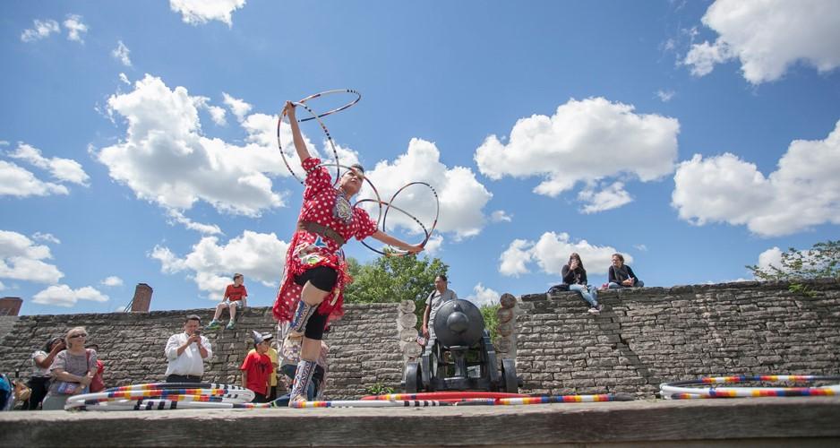 Le Festival des arts autochtones de Fort York