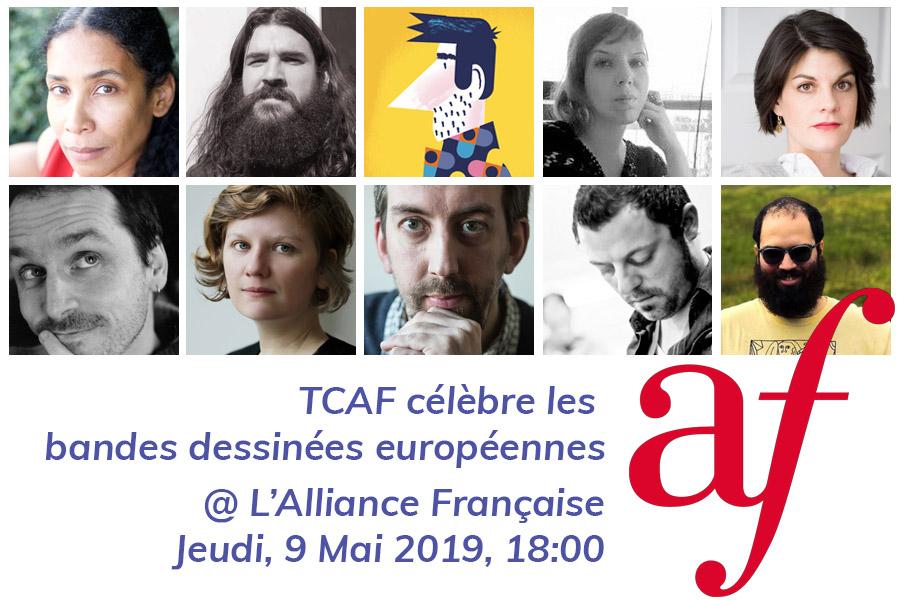 TCAF célèbre les bandes dessinées européennes