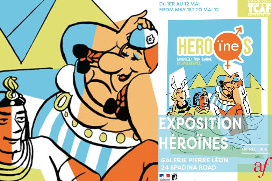 Exposition célébrant les figures féminines dans les bandes dessinées