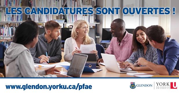 Formation relais destinée aux professionels francophones formés à l'étranger au campus Glendon