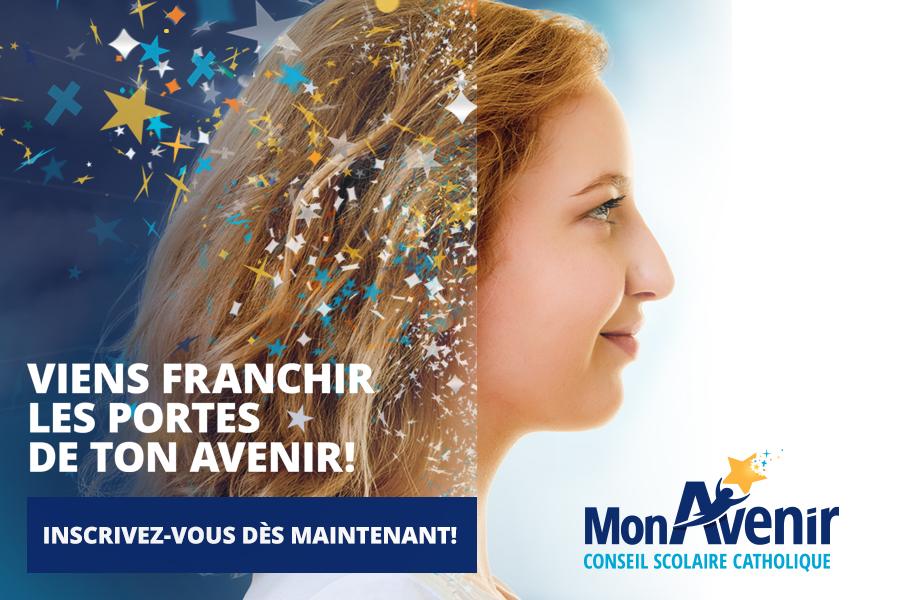 Cet automne, venez visiter les écoles secondaires du Conseil scolaire catholique MonAvenir!
