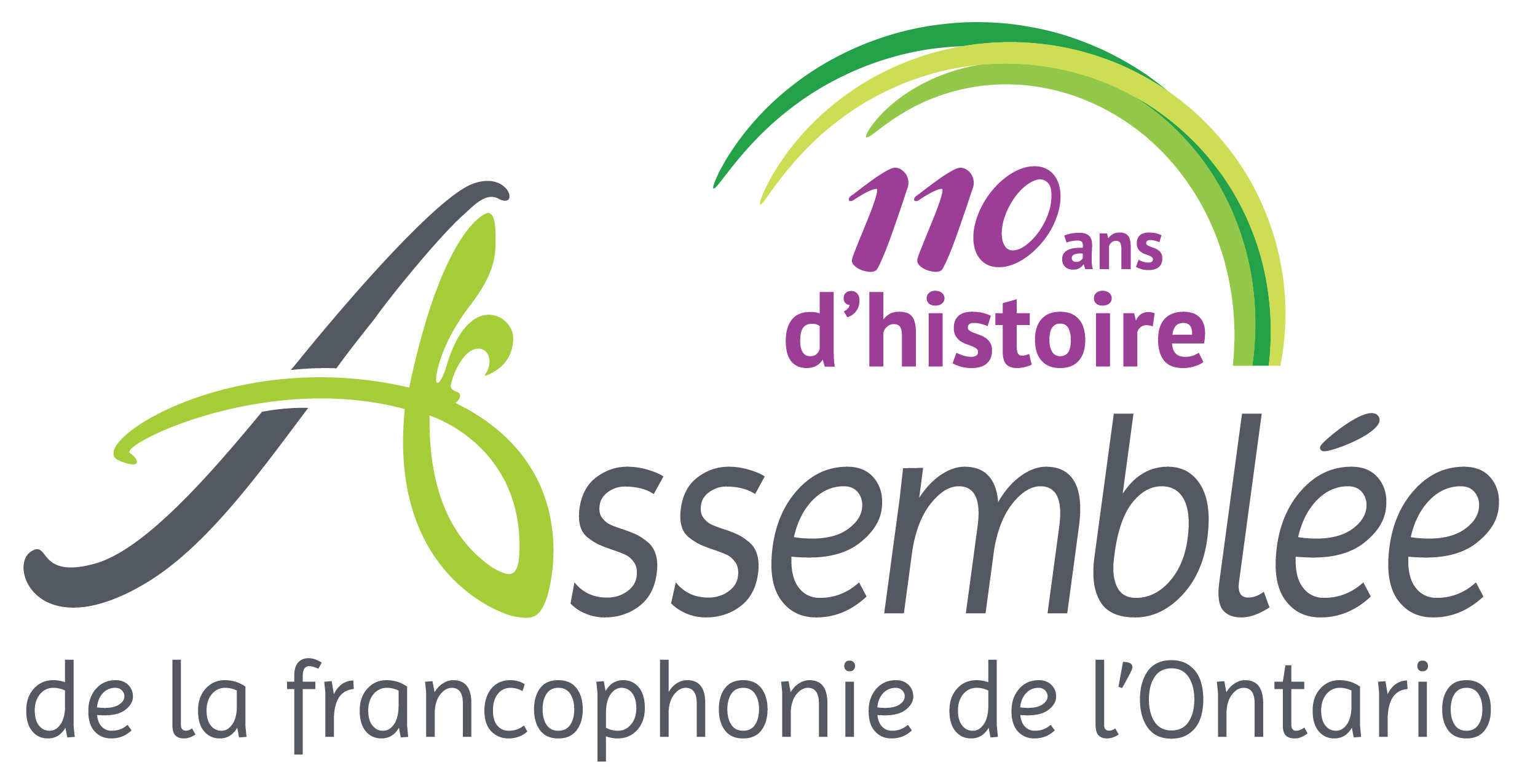 Logo: L'Assemblée de la francophonie de l'Ontario