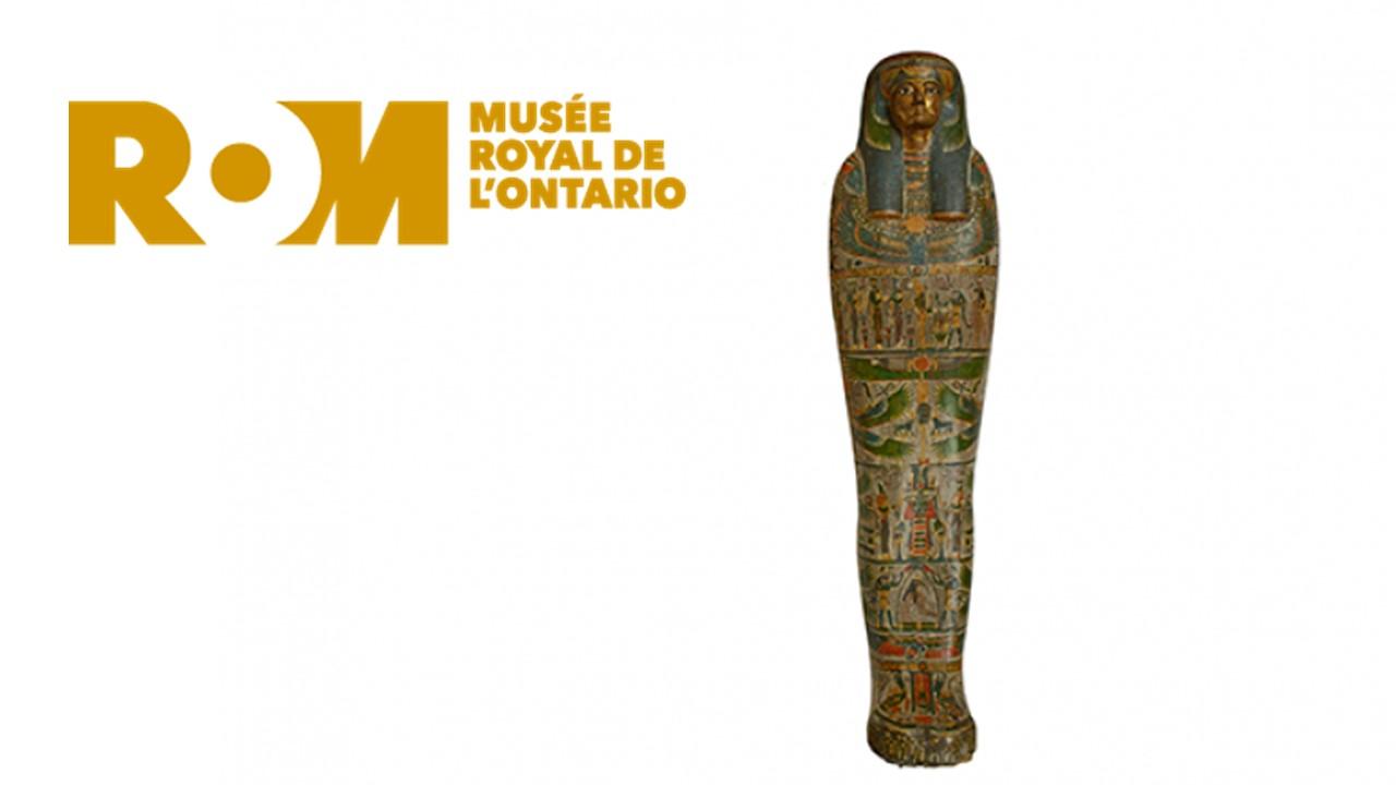 Affiche pour l'exposition Les momies égyptiennes