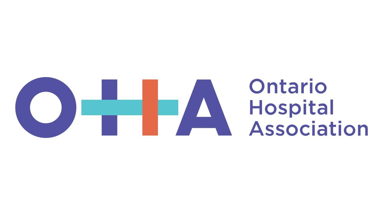 Logo: L'association des hôpitaux de l'Ontario