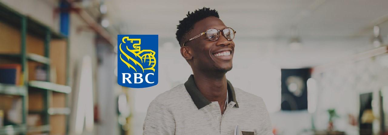 Affiche pour le Série virtuelle de développement de carrière pour les jeunes par RBC
