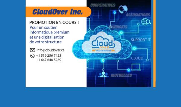 Promotion spéciale de Cloudover Inc.