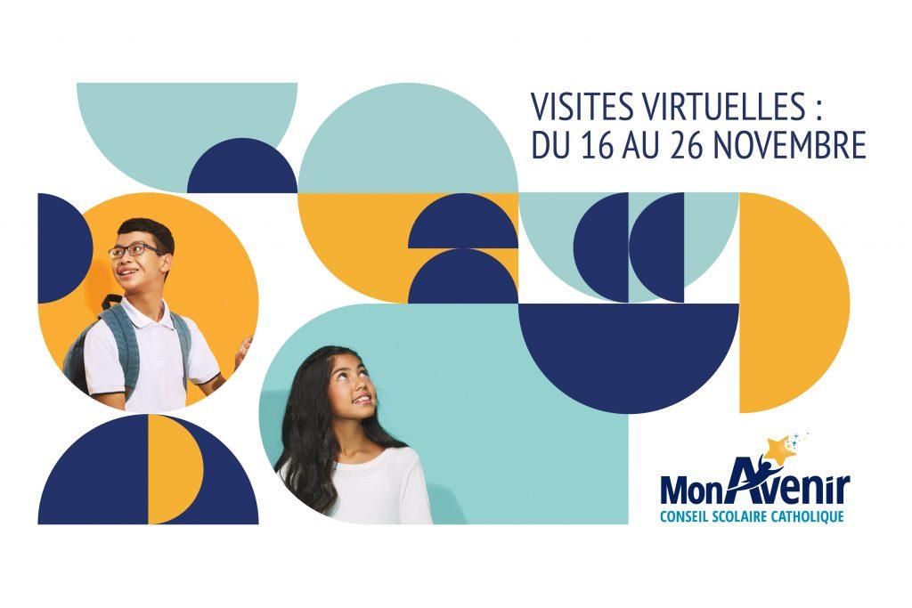 Visites virtuelles du Conseil scolaire catholique MonAvenir