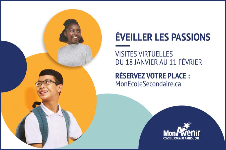 ÉDUCATION SECONDAIRE: NOUVELLE SESSION DE VISITES VIRTUELLES DU CSC MONAVENIR