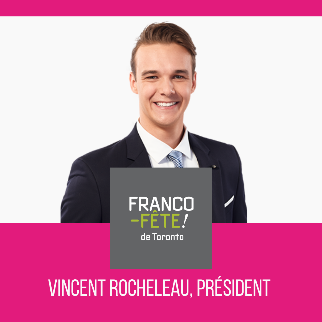 Un nouveau visage à la présidence du CA de la Franco-Fête! de Toronto - GrandToronto.ca