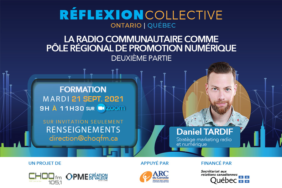 La radio vers le numérique: atelier de formation (deuxième partie)